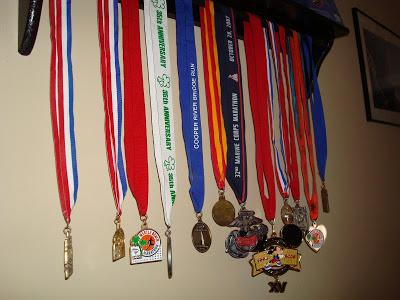 DIY Running Medal Display in 5 Easy Steps