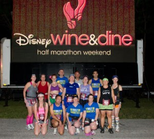Disney Wine & Dine half marathon 2011