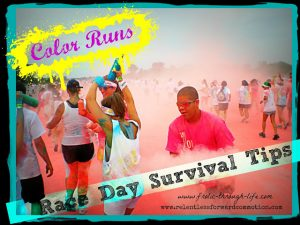 Color Runs: Race Day Survival Tips