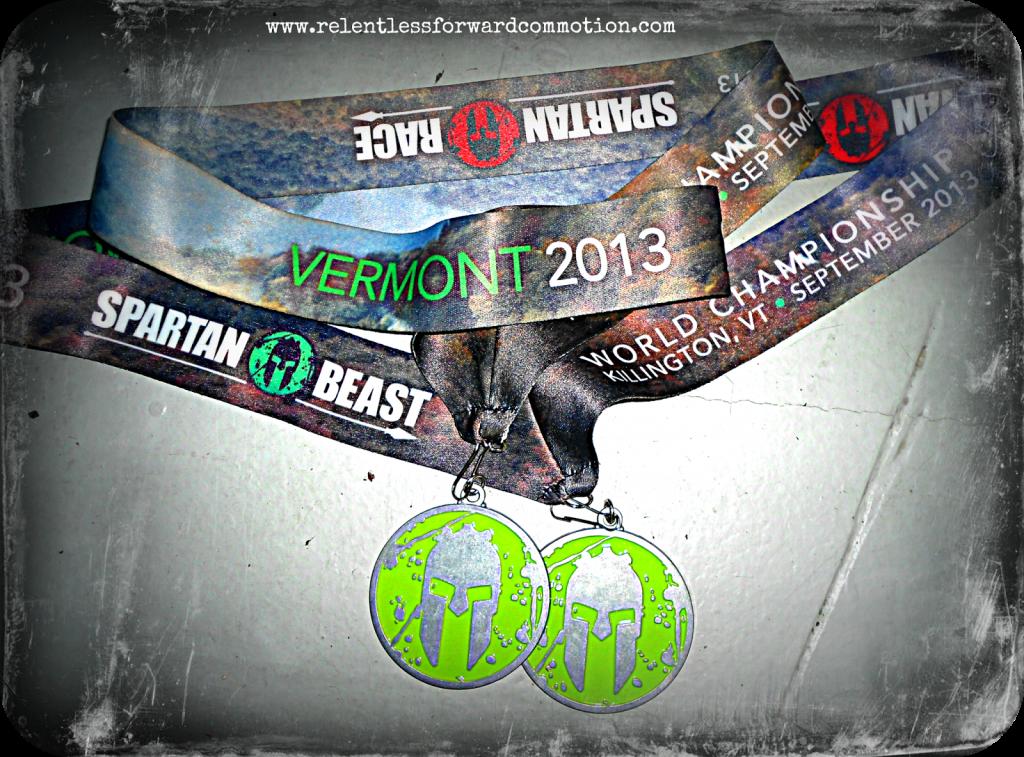 Vermont Spartan Beast Medal