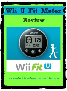 Wii U Fit Meter Review