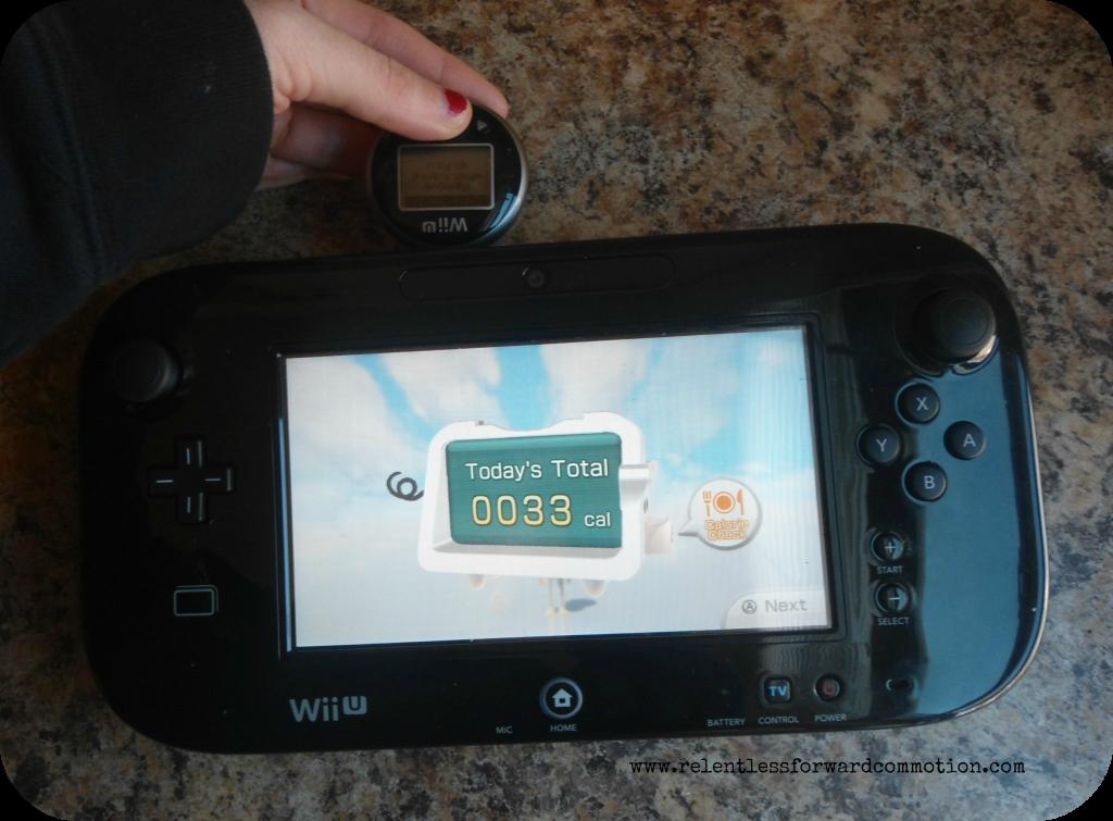 Wii U Fit Sync