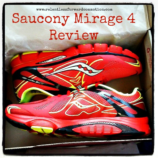 saucony mirage 4 review