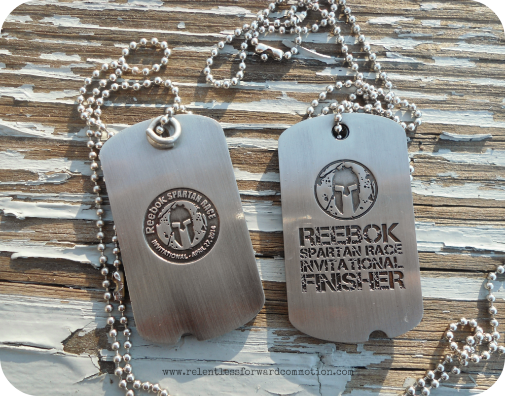 Reebok Spartan Invitational Medal