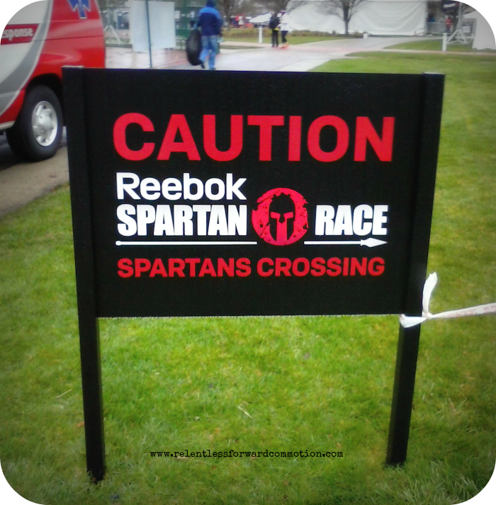 Reebok Spartan Invitational Sign