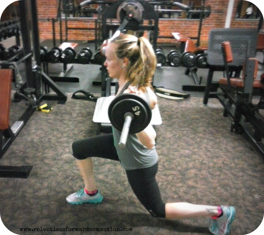 walking lunges