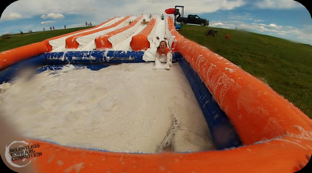 5K Foam Fest Slip n Slide