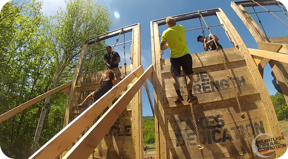 Tough Mudder Balls to the Wall