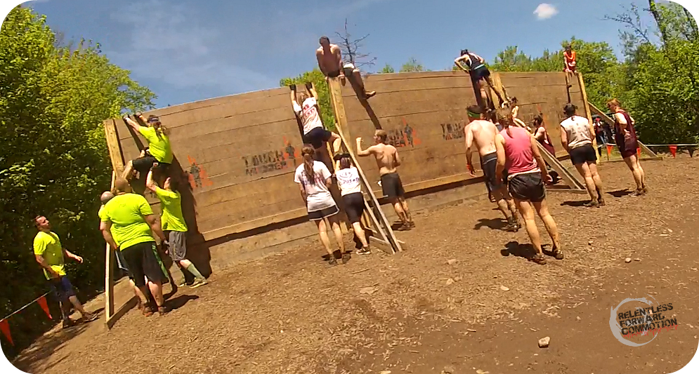 Tough Mudder Berlin Walls