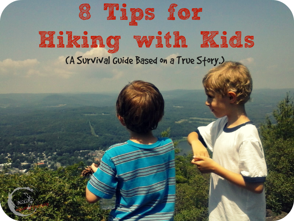 Hiking with Kids Pin
