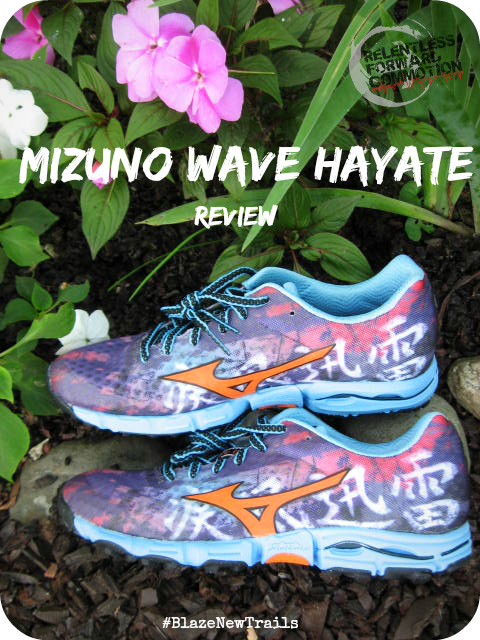 Mizuno Wave Hayate pin