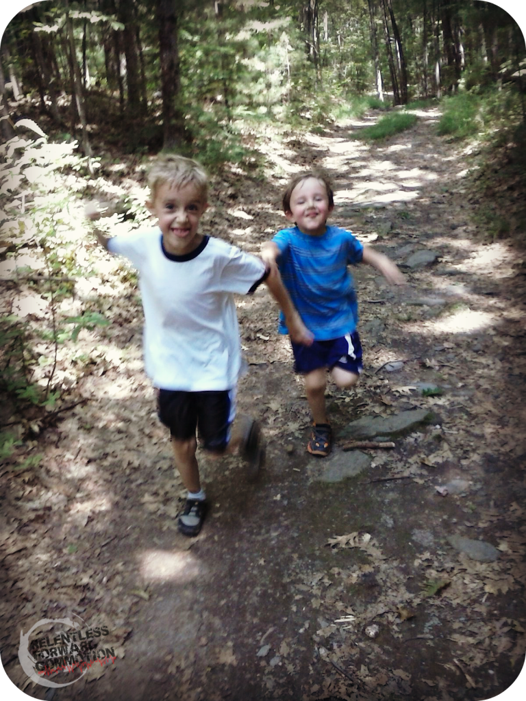 hiking with kids 2