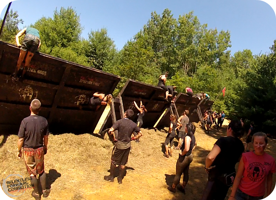 Boston Spartan Race Inverted Walls