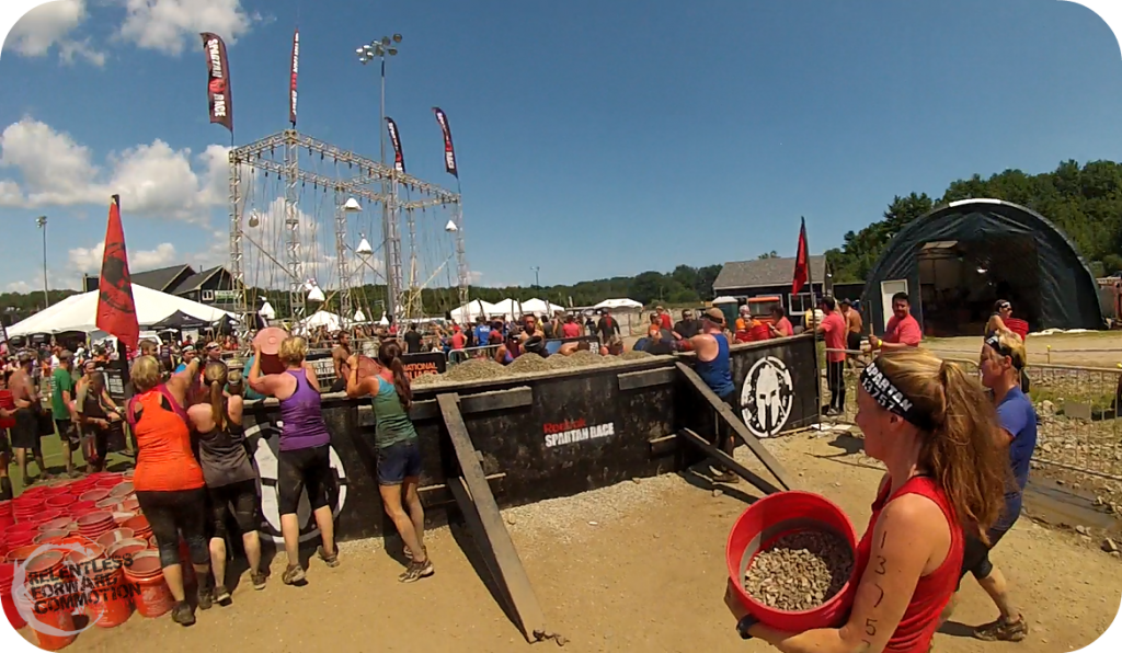 Boston Spartan Sprint Bucket Carry