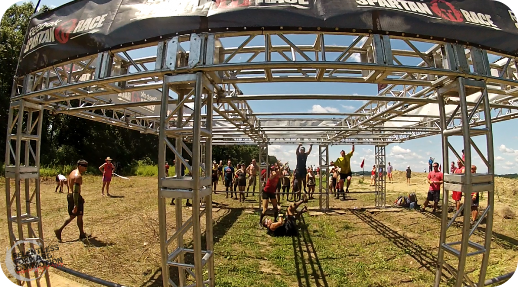 Boston Spartan Sprint Monkey Bars