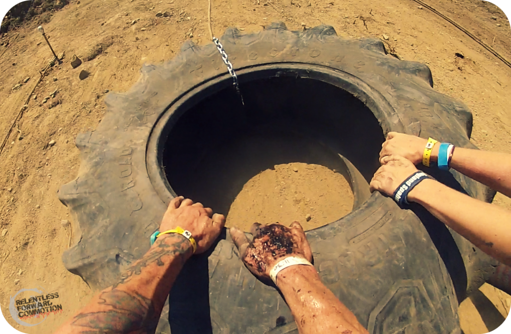 Boston Spartan Sprint tire drag