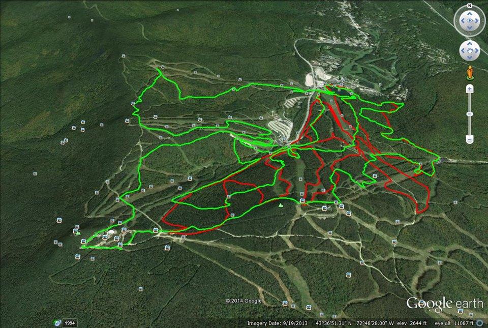 2014 Vermont Spartan Beast GPS