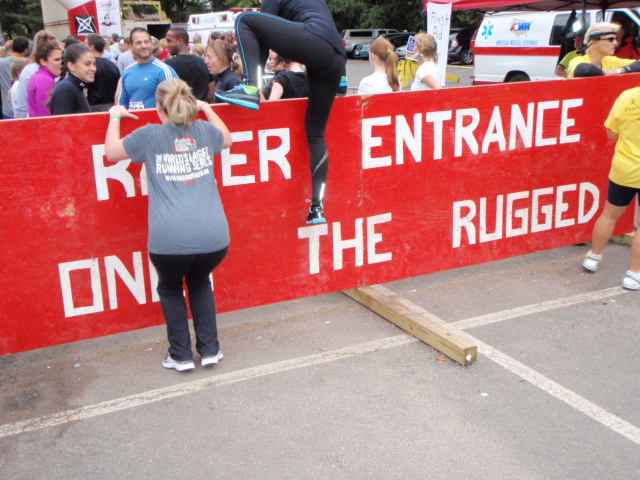 The Start Was Pretty Neatu2026you Actually Ran Under The Very LAST Obstacle Of  The Course. So During Our Heat Start (10:30) There Were People Crawling  Over The ...