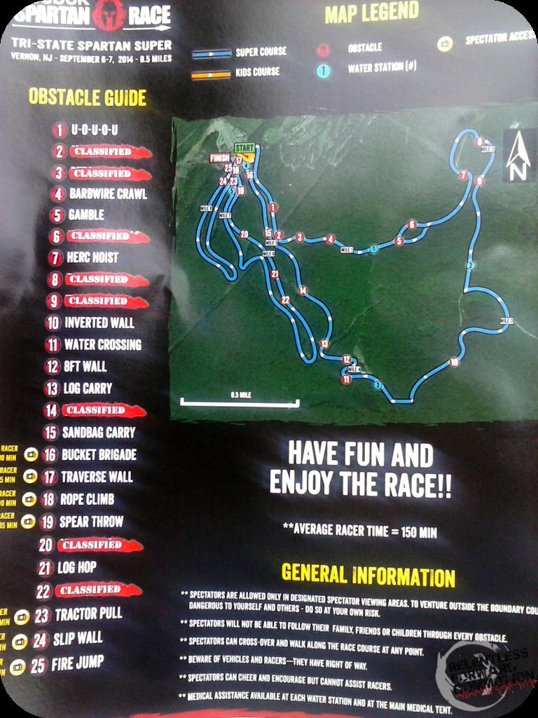 Tri State Spartan Map