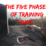 "The Five Phases of Training ""Suck""."