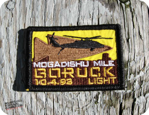 Mogadishu mile goruck patch