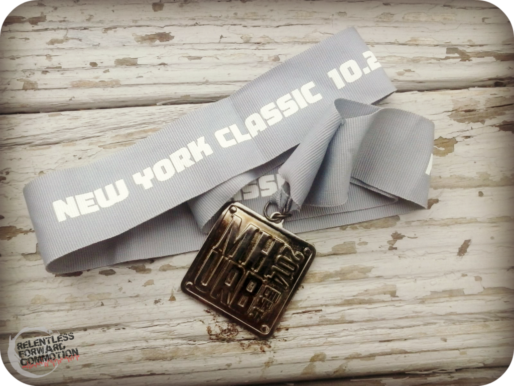 Men's Health Urbanathlon Medal