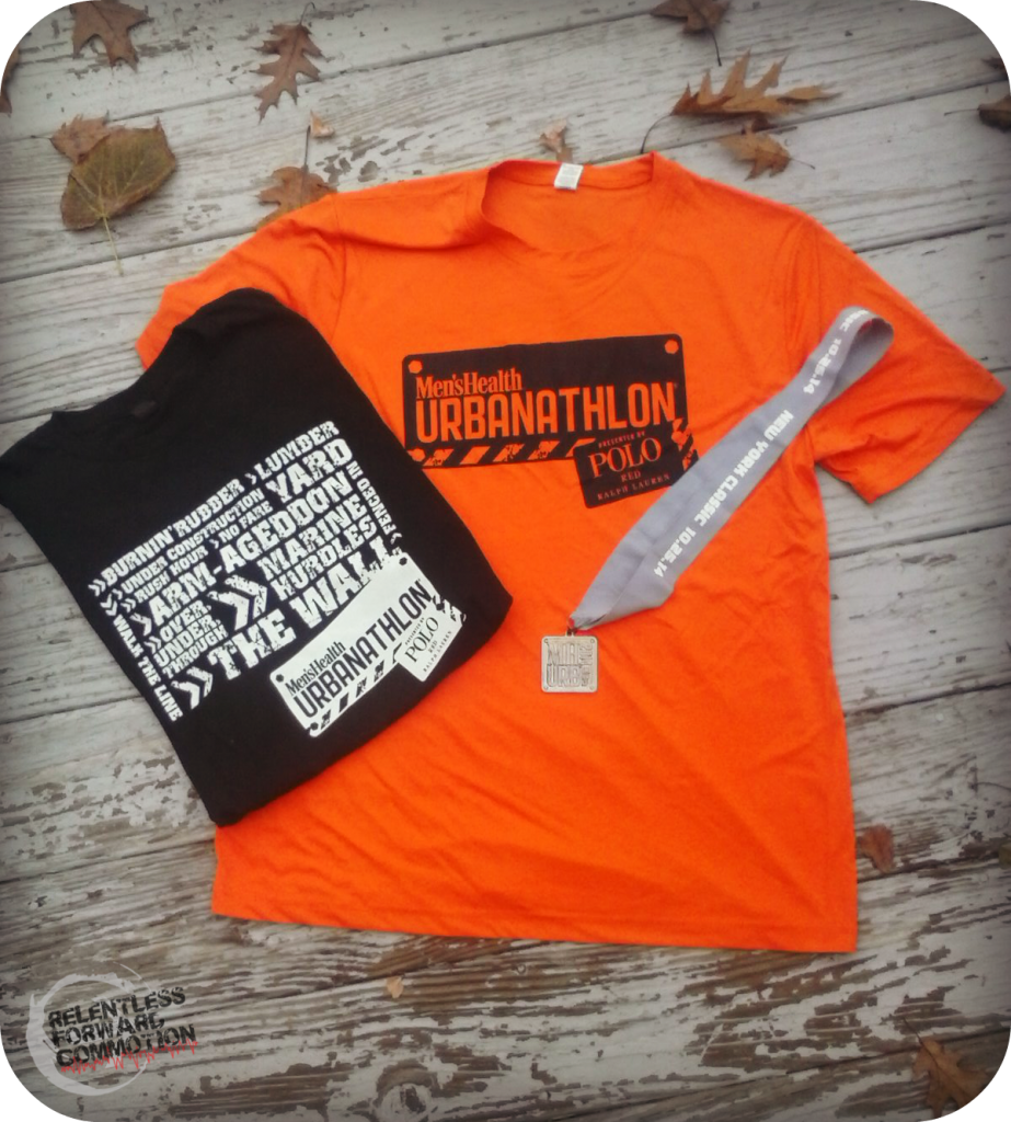 Men's Health Urbanathlon shirts