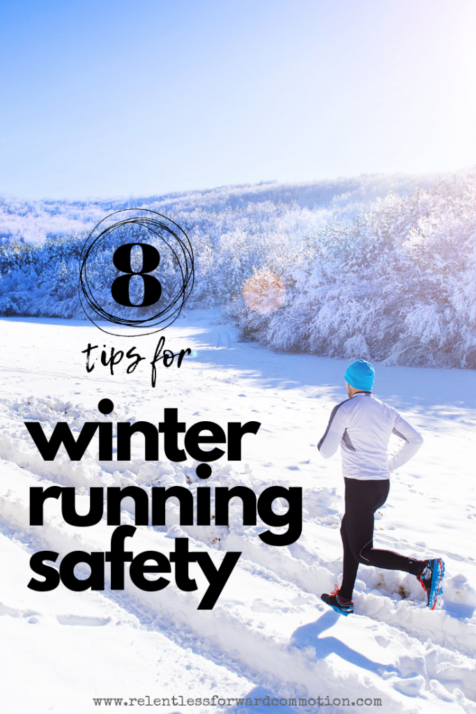 8 tips for winter running safety