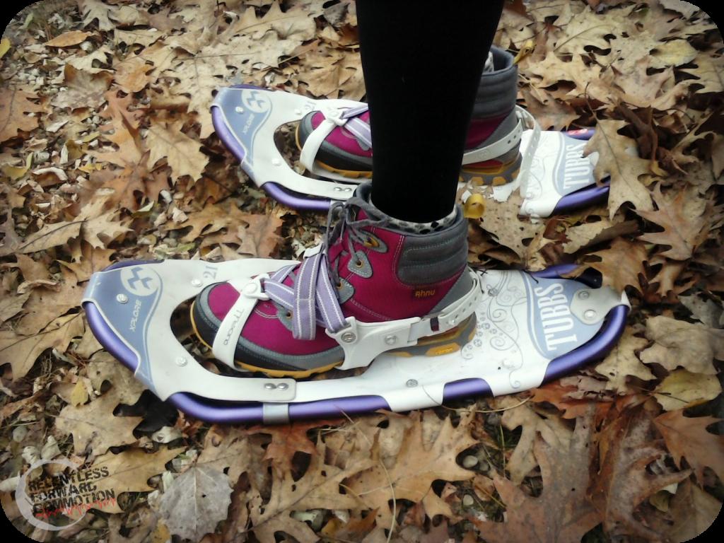 Ahnu snowshoes