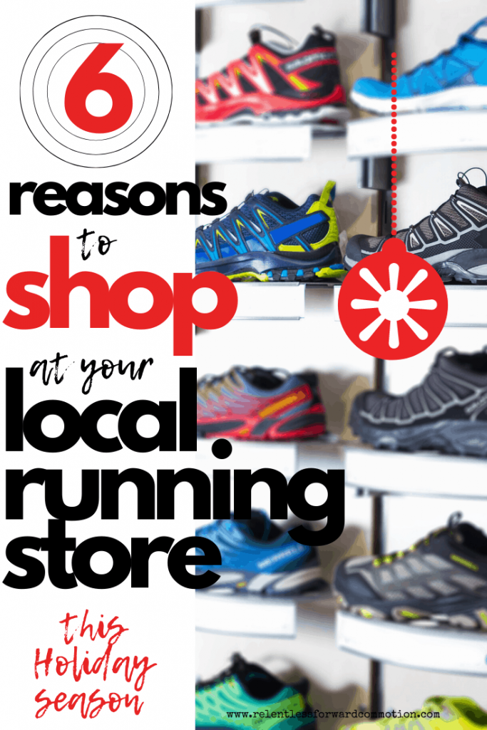 6 reasons to shop at your local running store