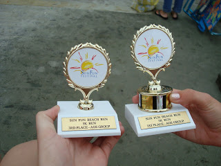 Sun Fun Beach Run 5K age group awards