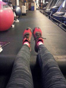 Heather's Gym Almost-A-Marathon Extravaganza.