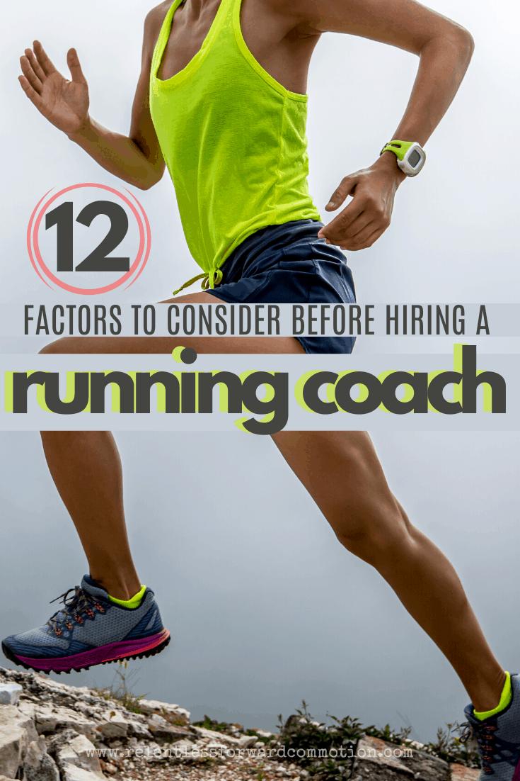 Consider Before Hiring a Running Coach