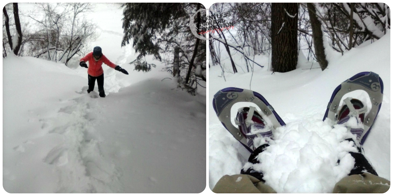 Snowshoeing Vermont