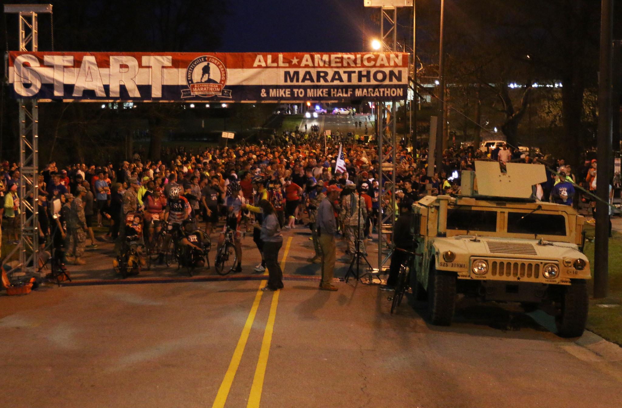All American Marathon Start