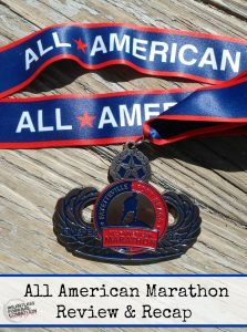 All American Marathon – Review & Race Recap