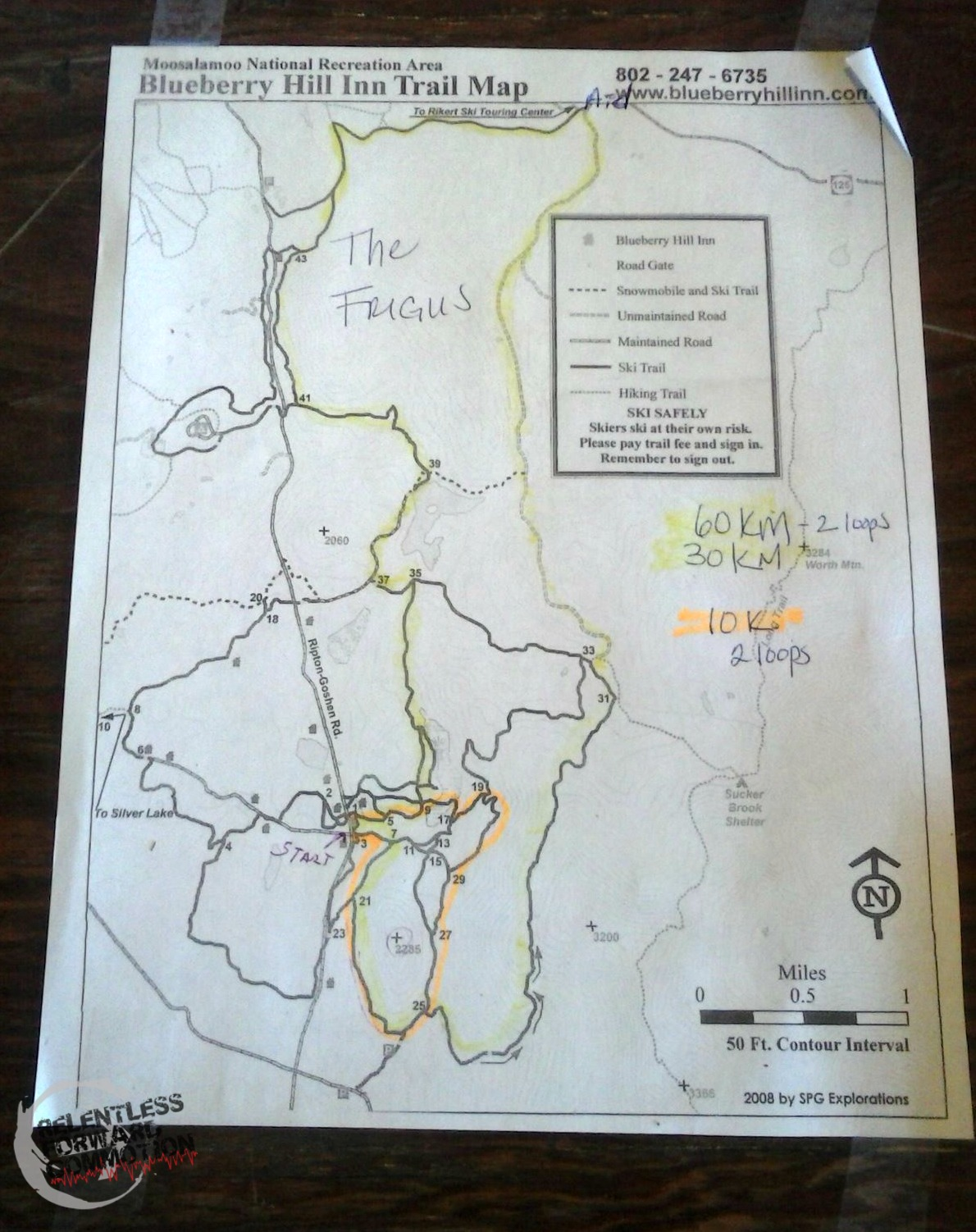 FRIGUS map