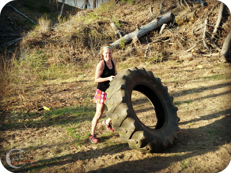 Tire Flip Heather