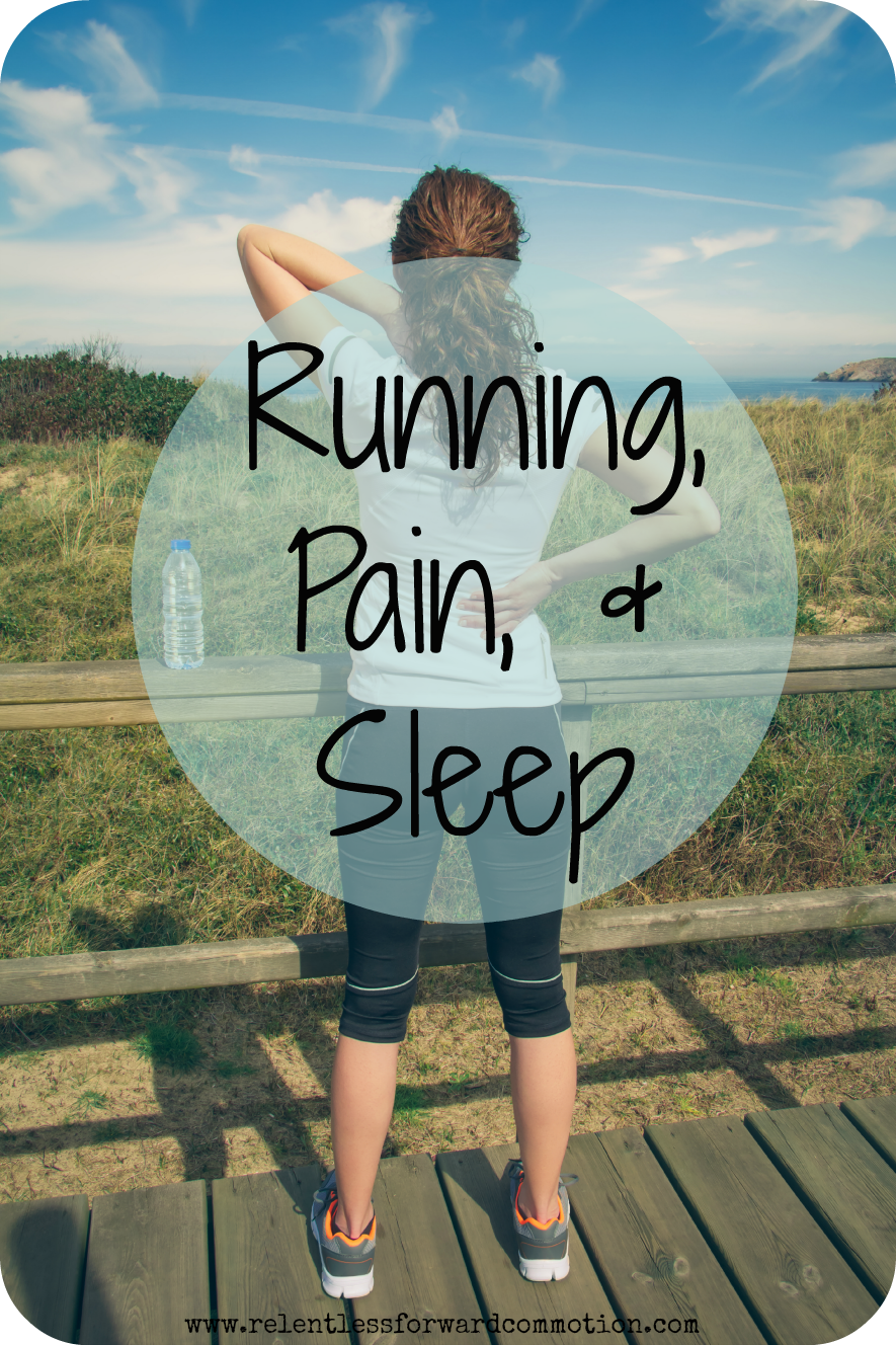 Running, Pain, & Sleep