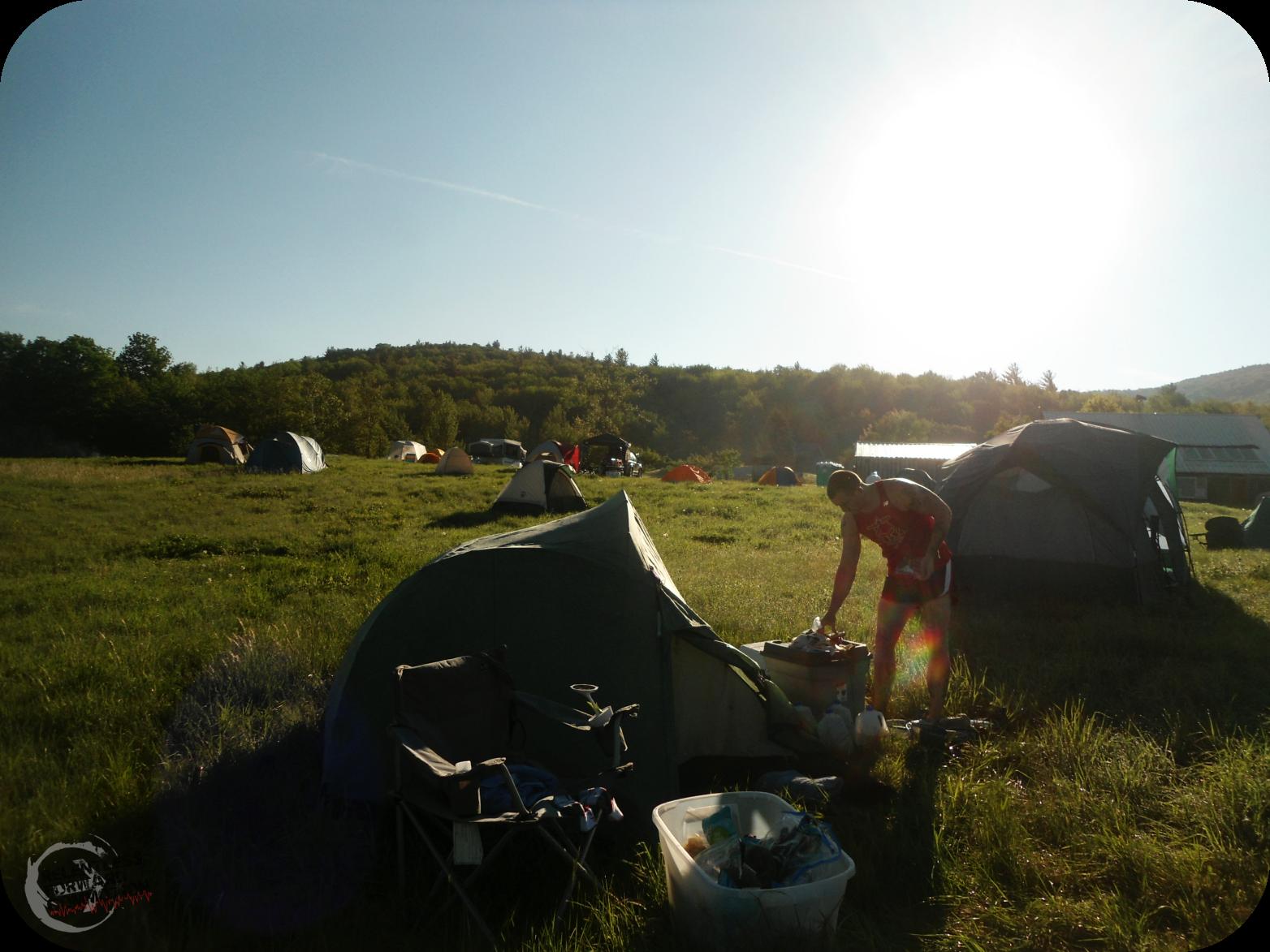 Tents at Infinitus