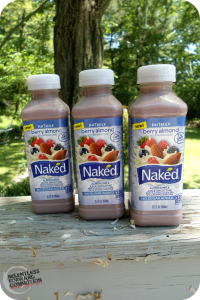 On the Go with Naked Berry Almond Nutmilk