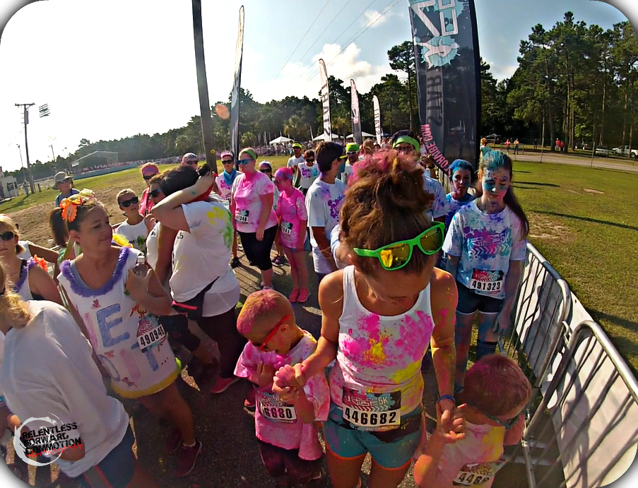Pre Race - The Color Vibe 2
