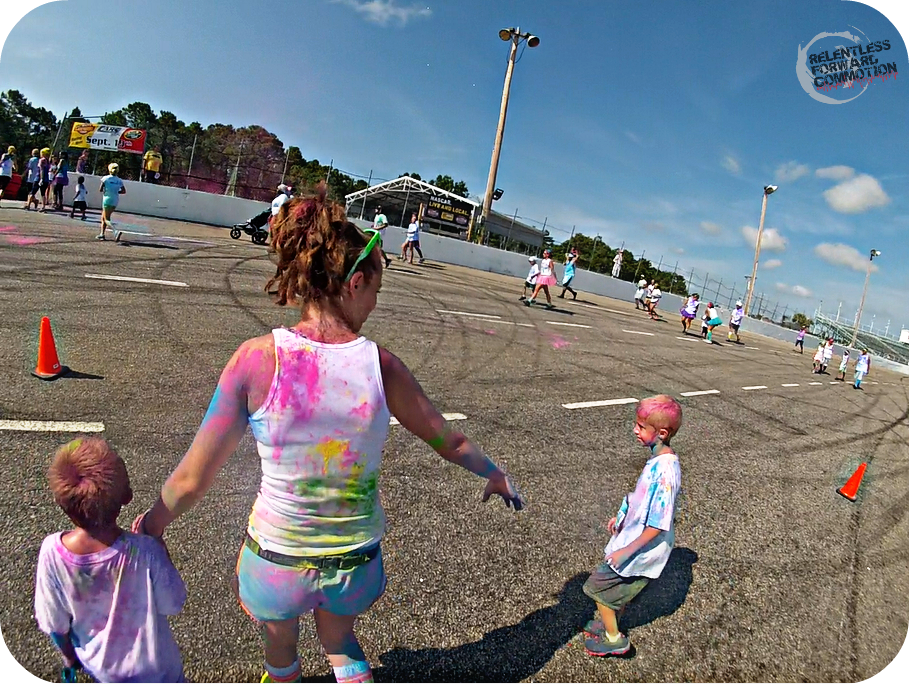 The Color Vibe Race Track