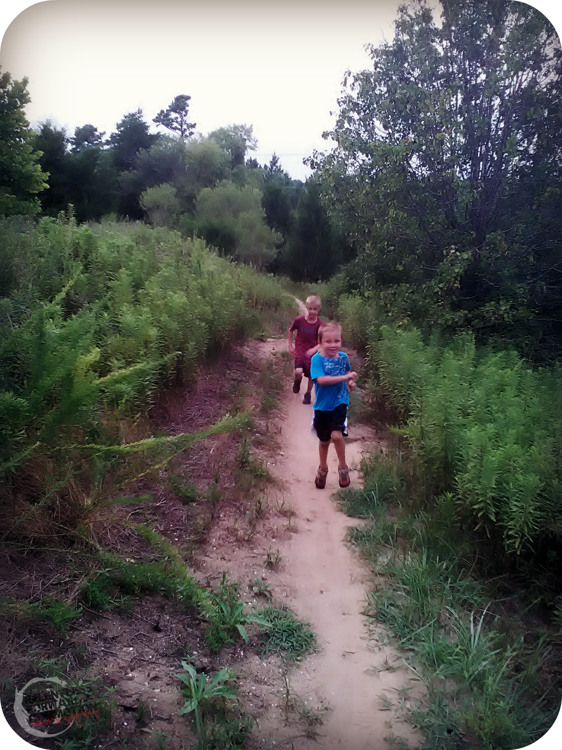 trail running kids