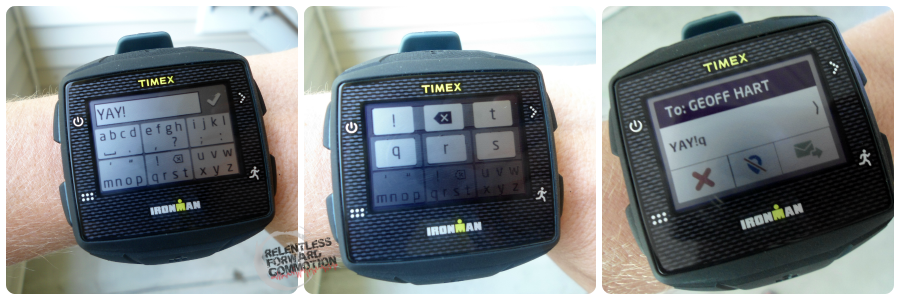 Timex GPS Collage
