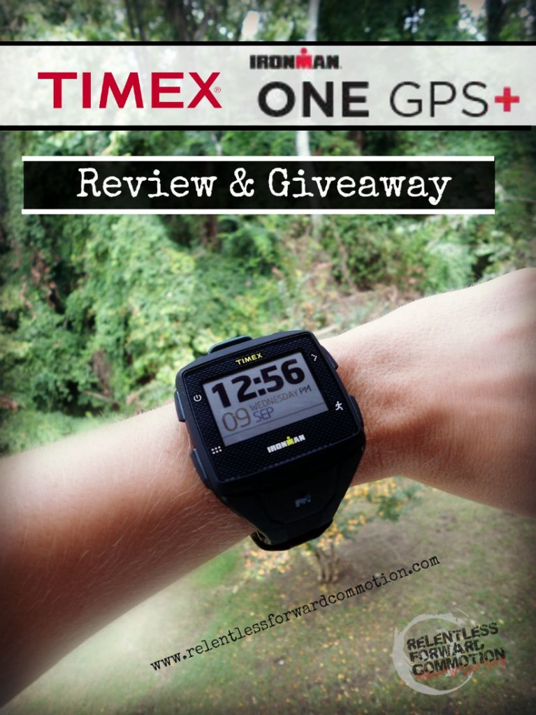 Timex Ironman One GPS + Giveaway