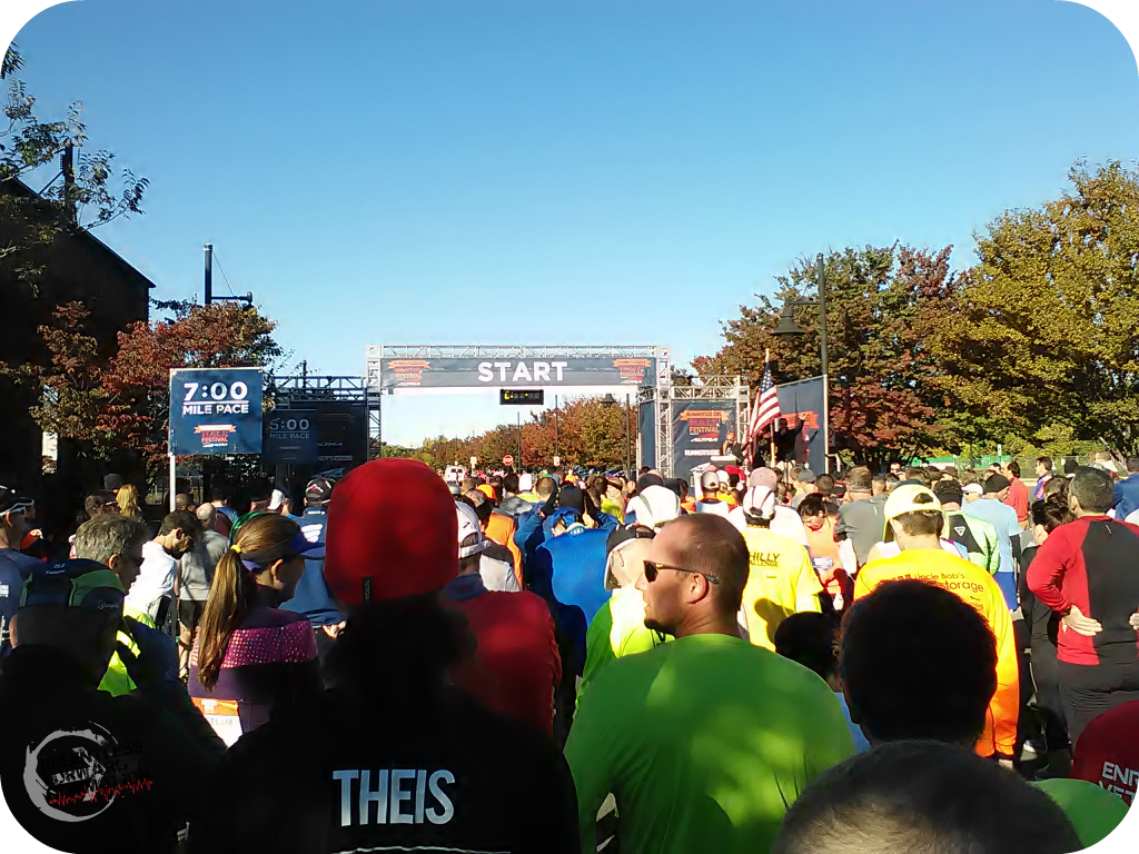 RW Five and Dime start line