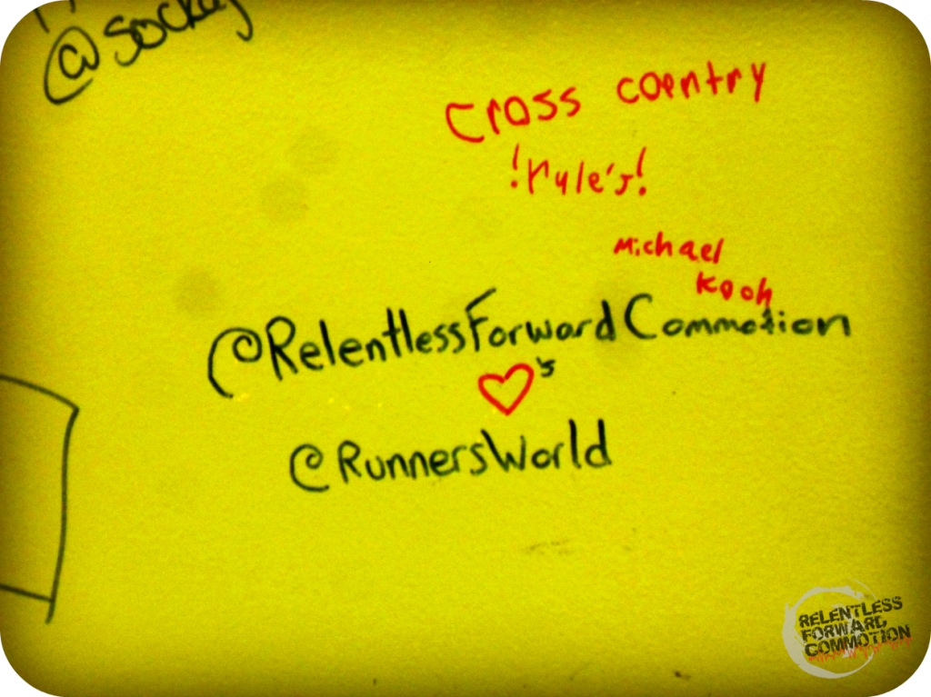 Runner's World Wall