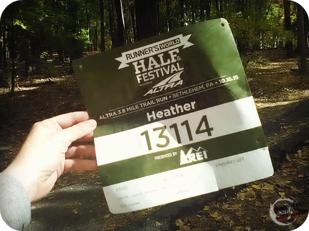 trail race bib