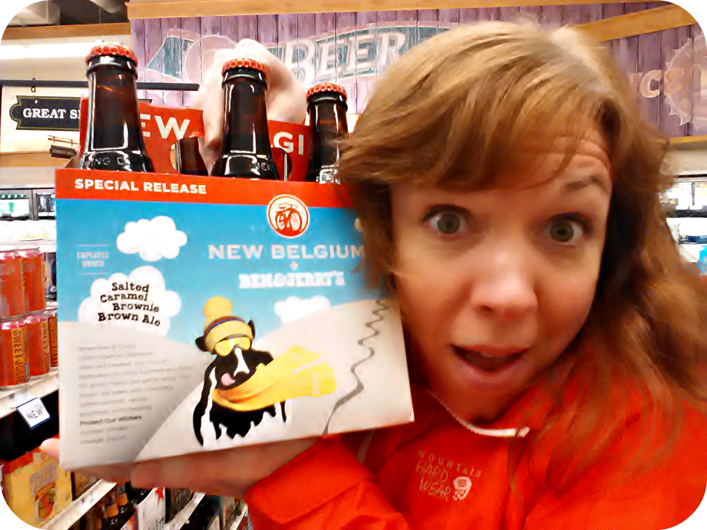 New Belgium Ben & Jerry's Beer